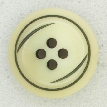 Ref002682 Botón Redondo en color beige