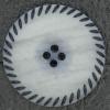 Ref002683 Botón Redondo en color gris