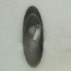 Ref002741 Botón Ovalado en color gris