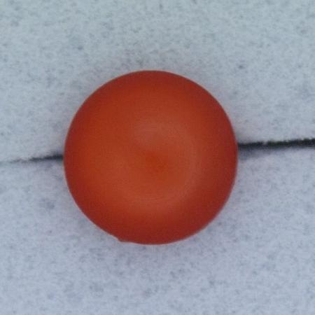 Ref000271 Botón Redondo en color rojo