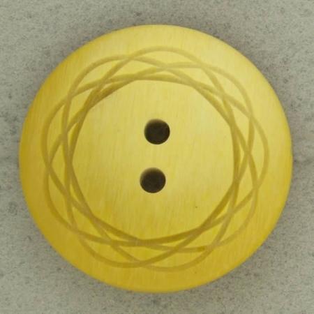 Ref002811 Botón Redondo en colores amarillo y  mostaza