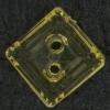 Ref002822 Botón Cuadrado en colores naranja y amarillo y beige y marron y transparente