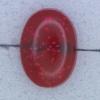 Ref000279 Botón Ovalado en colores rojo y  transparente
