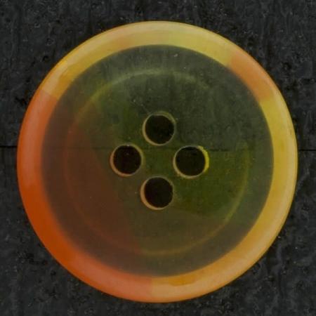 Ref002828 Botón Redondo en colores amarillo y naranja y transparente