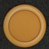 Ref002837 Botón Redondo en color naranja