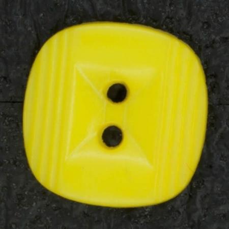Ref002838 Botón Cuadrado en color amarillo