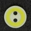Ref002839 Botón Redondo en colores amarillo y blanco