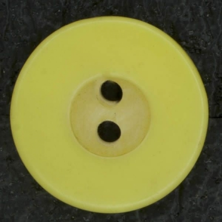 Ref002848 Botón Redondo en color amarillo