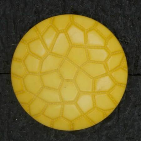 Ref002849 Botón Redondo en color amarillo