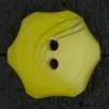 Ref002857 Botón Redondo, flor, estrella en color amarillo
