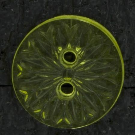 Ref002882 Botón Redondo en colores amarillo y transparente