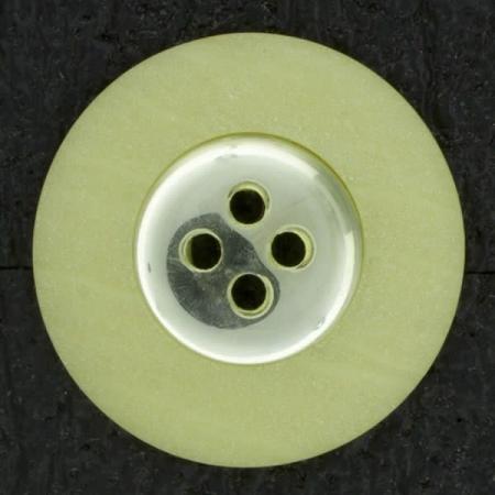 Ref002889 Botón Redondo en color amarillo