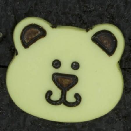 Ref002907 Botón Formas en color amarillo