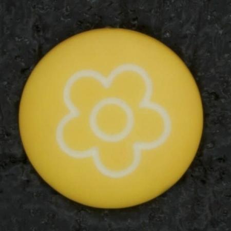 Ref002910 Botón Redondo en color naranja