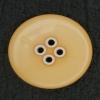 Ref002911 Botón Redondo en colores naranja y blanco
