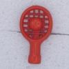 Ref000288 Botón Formas en color rojo