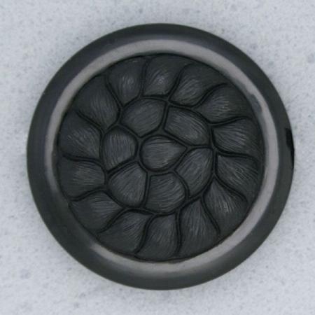 Ref000016 Botón Redondo en color negro