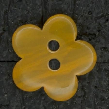 Ref002954 Botón Estrella, Flor en color naranja