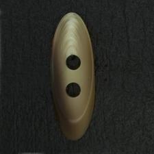 Ref002965 Botón Ovalado en colores beige y marron
