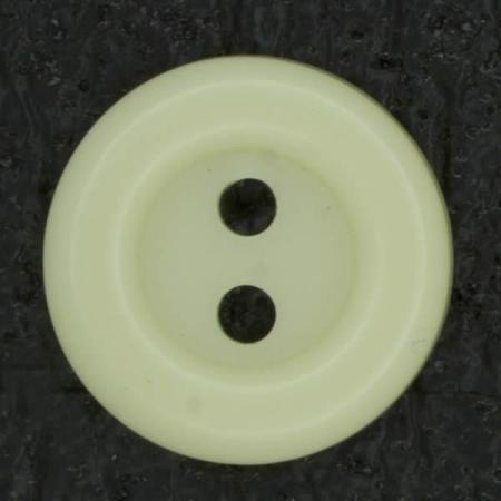 Ref002968 Botón Redondo en colores beige y amarillo