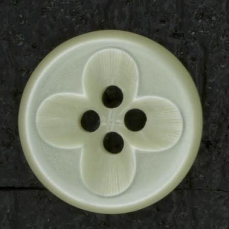 Ref002991 Botón Redondo en color marfil