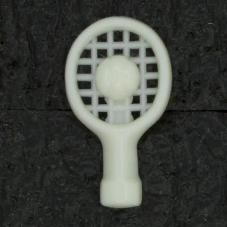Ref003021 Botón Formas en color blanco