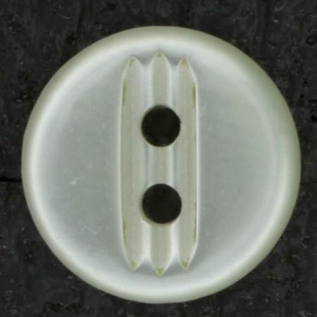 Ref003029 Botón Redondo en color blanco