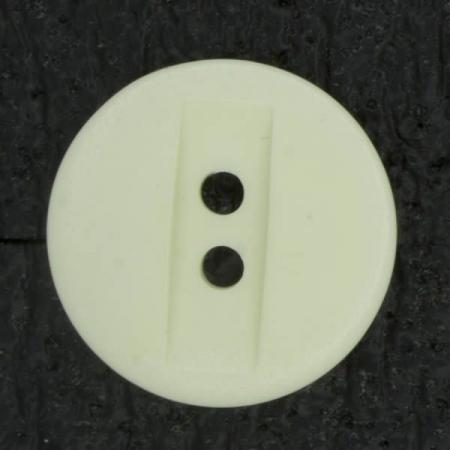 Ref003035 Botón Redondo en color blanco
