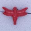 Ref000301 Botón Formas en color rojo