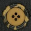 Ref003041 Botón Redondo en colores marron y  naranja