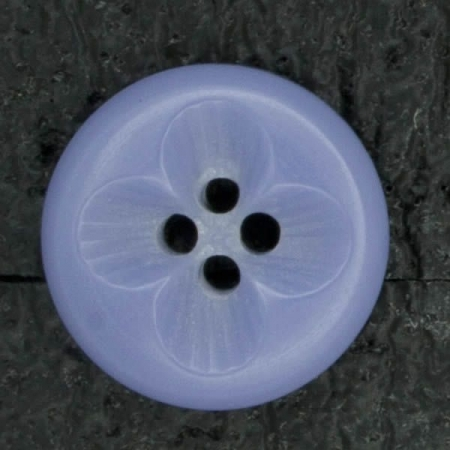 Ref003056 Botón Redondo en colores azul y  lila
