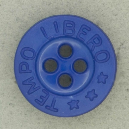Ref003092 Botón Redondo en color azul