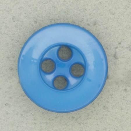Ref003094 Botón Redondo en color azul