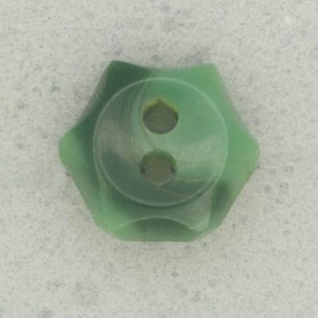 Ref003110 Botón Estrella, Flor en color verde