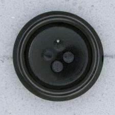 Ref003128 Botón Redondo en color negro