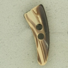 Ref004033 Botón Formas en colores marron y beige y negro