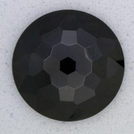 Ref000029 Botón Redondo en color negro
