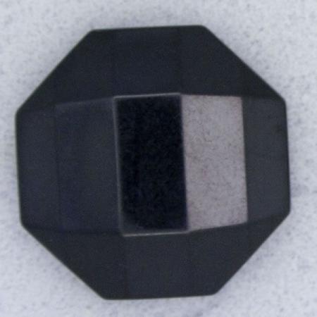 Ref000030 Botón Octógono en color negro