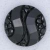 Ref000031 Botón Redondo en color negro