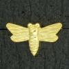 Ref001567 Botón formas en color dorado