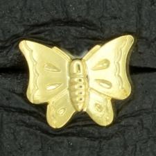 Ref001568 Botón formas en color dorado