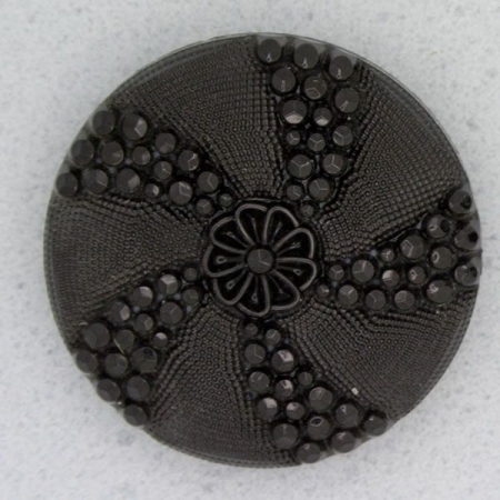Ref000020 Botón Redondo en color negro
